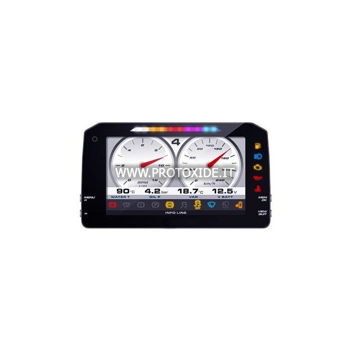 """Digital dashboard for cars and motorcycles """"P"""" NEW VERSION 1.2"""