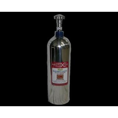 Cilindro de óxido nitroso en aluminio CROMADO y CE conforme 4 kg vacío Cilindros para óxido nitroso