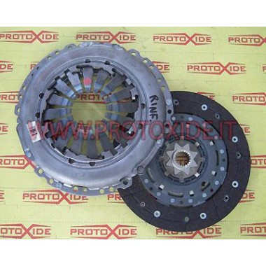 REPLACEMENT Reinforced clutch kit for GrandePunto, 500, Bravo T-jet Abarth for Flywheel Monomassa ProtoXide Reinforced clutches