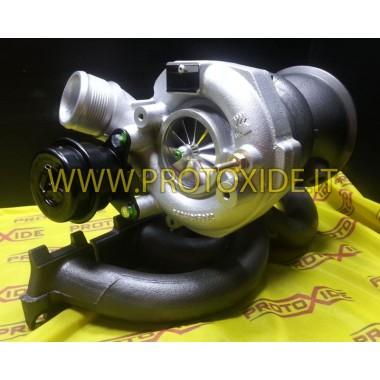 שינוי של turbocharging אאודי RS3 2.5 Plug and Play Turbochargers על מסבי מירוץ