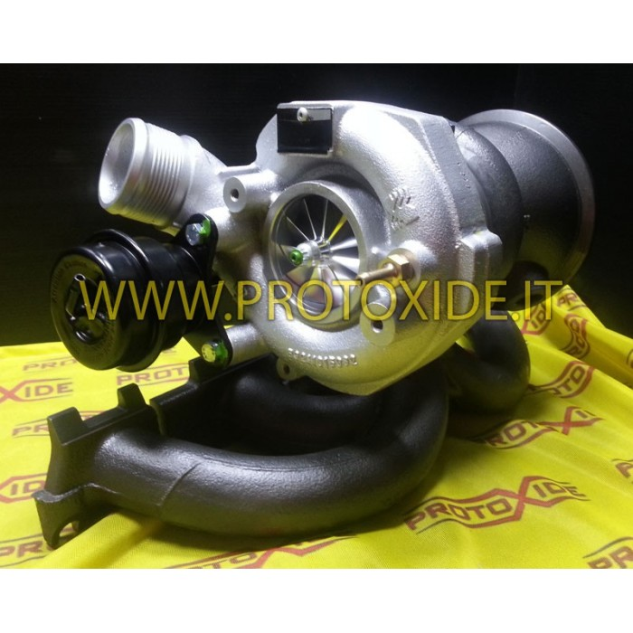 Modification on Ford Mustang 2.3L ecoboost Plug and play turbocharger Racing ball bearing Turbocharger