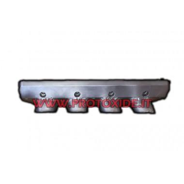 Flansch Aluminium Ansaugkrümmer Fiat 1.4 16v Saugrohrflansche