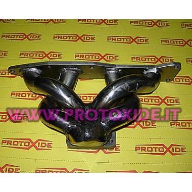 Collettore scarico Suzuki Sj 410-413 con motore Swift 1300 16v trasformazione Turbo acciaio inox Collettori in acciaio per mo...