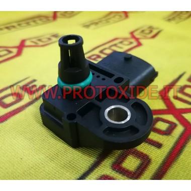 Turbo motorlar ve turbo dizel motorlar için 4 mutlak bara kadar basınç sensörü FIAT ALFA LANCIA basınç sensörleri