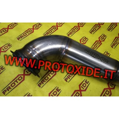 Short exhaust downpipe 500 Grande Punto 1.4 for GT25-28-GTX28-GTO262