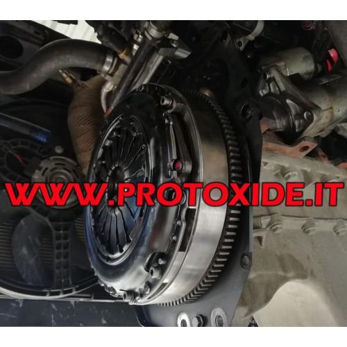 Single-mass flywheel kit steel reinforced clutch T-Jet Abarth Steel flywheel kit complete with reinforced clutch