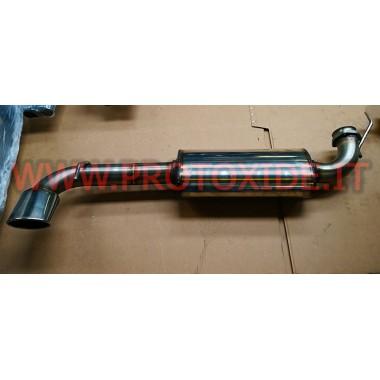 Silenciador de escape Lancia Delta 2000 16v 2.000 turbo aumentado 70mm Silenciadores de escape y terminales