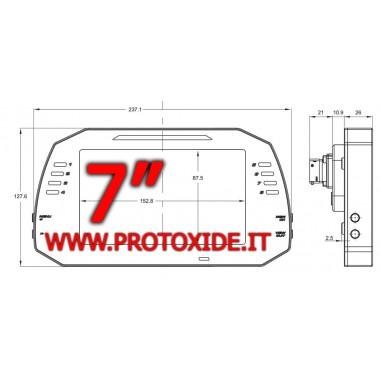 Cruscotto digitale per auto e moto 7 pollici display G Cruscotti Digitali