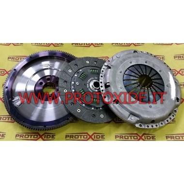 Reinforced single mass flywheel kit VW PASSAT 1800 20v Turbo 150hp Steel flywheel kit complete with reinforced clutch