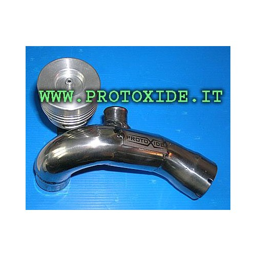 Pop off the smart sleeve with dedicated stainless steel Blow Off valves
