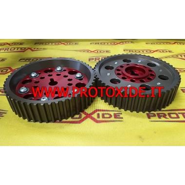 Verstelbare katrollen voor Lancia Delta 16V brede band Instelbare motorpoelies en compressorpoelies