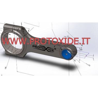 Bielle acciaio Suzuki Hayabusa Gsx 1300 dopo 2009 ad H rovesciata Bielle