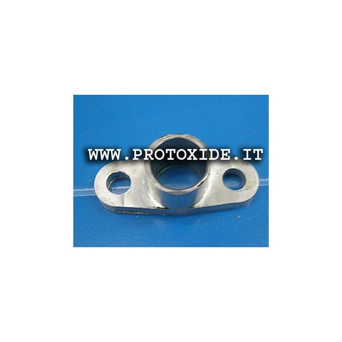 Raccordo scarico olio alluminio per turbocompressori Garrett Accessori per Turbo
