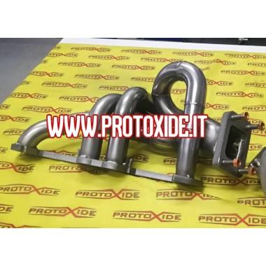 Yan egzoz manifoldu Fiat Punto GT-UNO uzun versiyon Turbo Benzinli motorlar için çelik manifoldlar