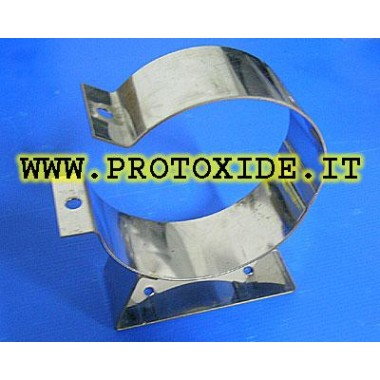 Bracket for 1 kg bottle Italian approved for MOTO