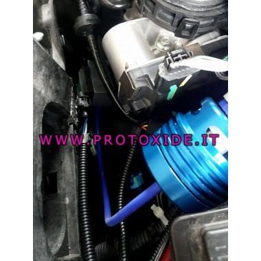 Atvienojamais vārsts ar ārējo ventilāciju Alfaromeo Giulietta 1750 Pop Off Valve