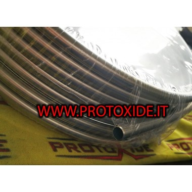 copy of fuel hose in synthetic rubber with internal metal braided 8mm