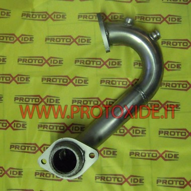 Pakoputken poistoputki mallille Renault Clio 4 RS 18 1.600 Turbo Downpipe for gasoline engine turbo