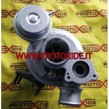 Turbocompressor Garrett GT1446 plus Fiat 500 Abarth ProtoXide Turbochargers op race lagers