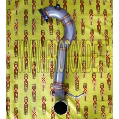 Downpipe scarico Mercedes A45 amg 381hp solo tubo libero Downpipe for gasoline engine turbo