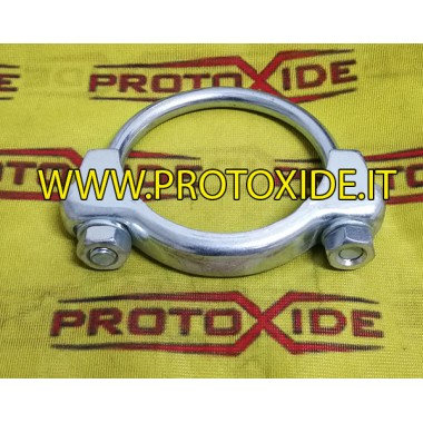 Manschettenklemme für 80mm Schalldämpfer Klemmen und Kragen für Schalldämpfer