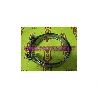 Rostfritt stål avgasbandband Ties kragar och V-Band Ringar