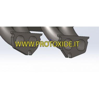 copy of Flangia collettore di aspirazione in alluminio Suzuki Swift 1300 16v Imuputken laipat