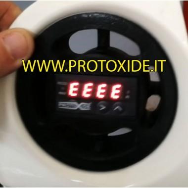Uchwyt na przyrząd powietrzny Fiat 500 Abarth na 1 prostokątny przyrząd ProtoXide