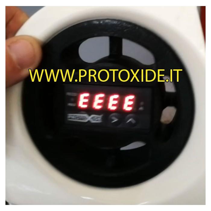Fiat 500 Abarth gaisa ventilācijas instrumentu turētājs 1 taisnstūrveida ProtoXide instrumentam Instrumentu turētāji un instr...