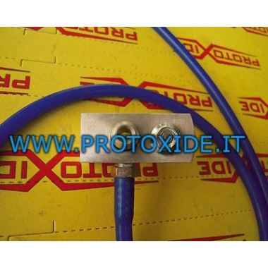 copy of プジョー207またはTHPミニR56 R60用ゲージアダプタ 圧力計ターボ、ガソリン、オイル