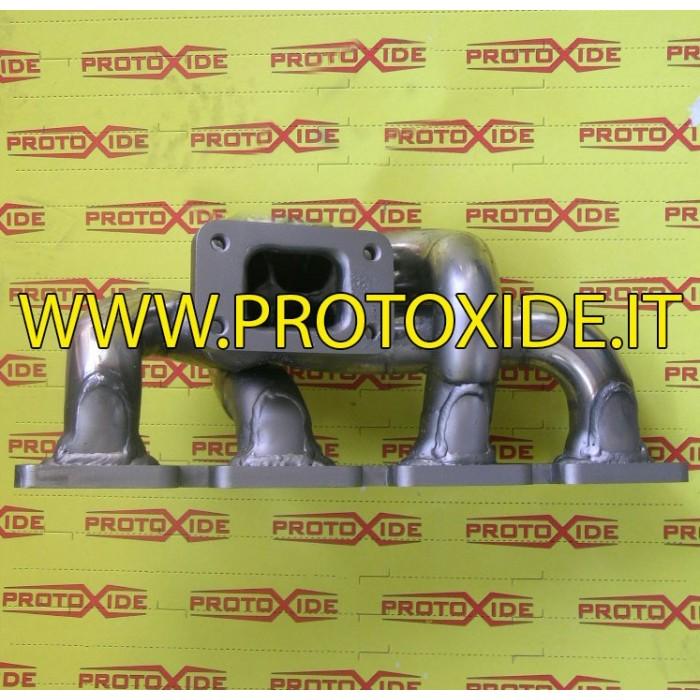 Uitlaatspruitstuk Ford Escort - Sierra Cosworth 2000 ORIGINELE POSITIE Stalen manifolds voor Turbo benzinemotoren