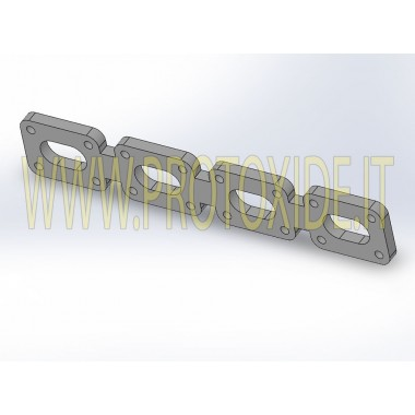 Exhaust manifold flange Ford Escort Csw Sierra Cosworth 2,000 Flanges exhaust manifolds