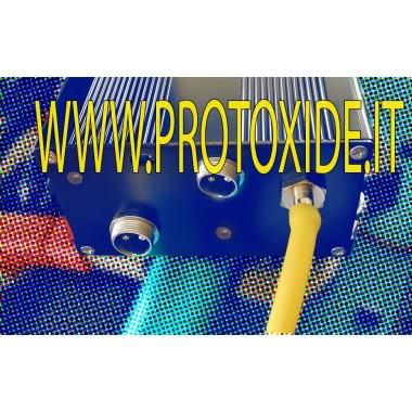 Kit pompa elettrica depressione con centralina e telecomando per valvole marmitta pneumatiche Pompe per vuoto elettriche