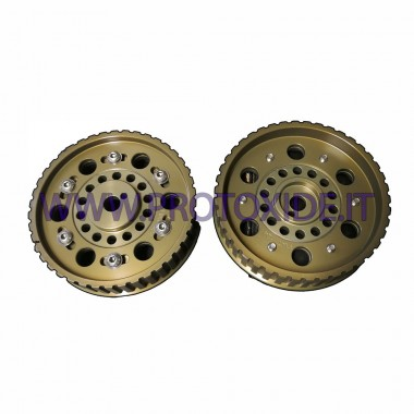 Adjustable pulleys for Fiat 124 - Fiat 131 model 2 with belt guard Adjustable motor pulleys and compressor pulleys