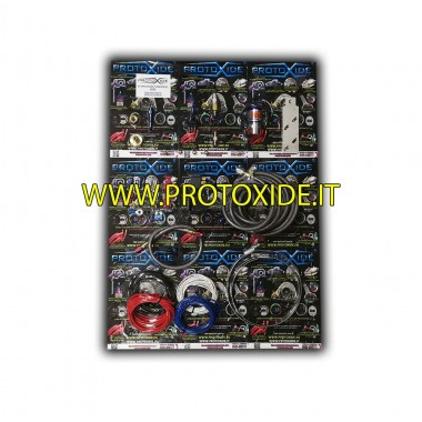 Lachgas kits voor diesel alleen gas gasklephuis Auto Benzine en diesel Oxy-kit