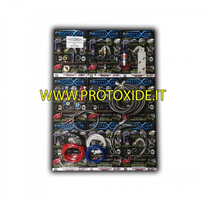 Dityppioksidi sarjoja dieselin vain kaasupoljin elin Auto Petrol ja Diesel Outer Oxide Kit