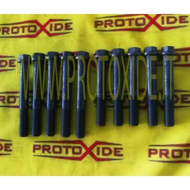 Parafusos da cabeça, além de Fiat Punto Gt, Uno Turbo 12 milímetros Parafusos de cabeça reforçados