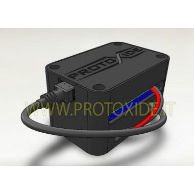Module om de omwentelingen voor de juiste toerenteller te verdubbelen Motor toerenteller en shift lichten