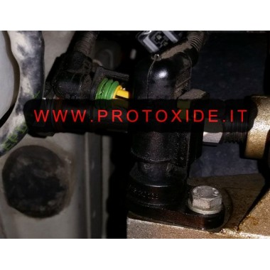 copy of Adaptador adaptador T para instalar el sensor de presión de aceite del motor fiat Manómetros Turbo, Gasolina, Aceite
