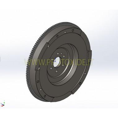Stahl-Einzelmassenschwungradsatz, verstärkte Kupplung Opel Adam 1400 16V Turbo Stahlschwungradsatz komplett mit verstärkter K...