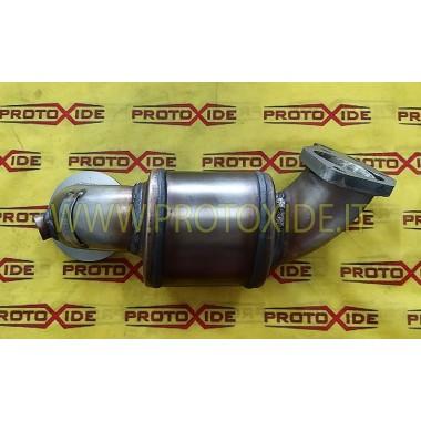Downpipe scarico catalizzato in acciaio Inox Alfaromeo 4C 1750 Tb CORTO Downpipe per motori turbo a benzina