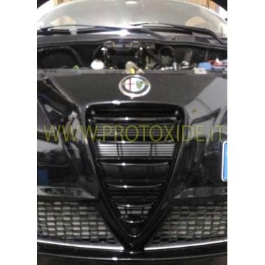 copy of Oliekoelerset voor Fiat Grandepunto Abarth t-jet 1400 COMPLETE oliekoelers plus