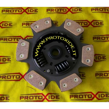 Lancia Delta Rame 6-plate clutch disc with flexible couplings Reinforced clutch plates