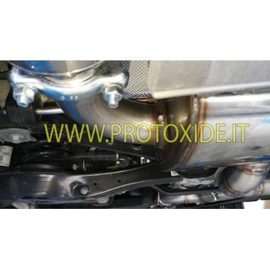 copy of Audi TTS 2000 pilnīgs izplūdes gāzu izplūdes trokšņa slāpētājs Pilnīgas nerūsējošā tērauda izplūdes sistēmas