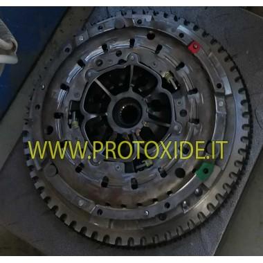 Single-mass stål svinghjulssæt med forstærket kobling Renault Clio V6 fase 1 fase 2 Stålflyvehjul
