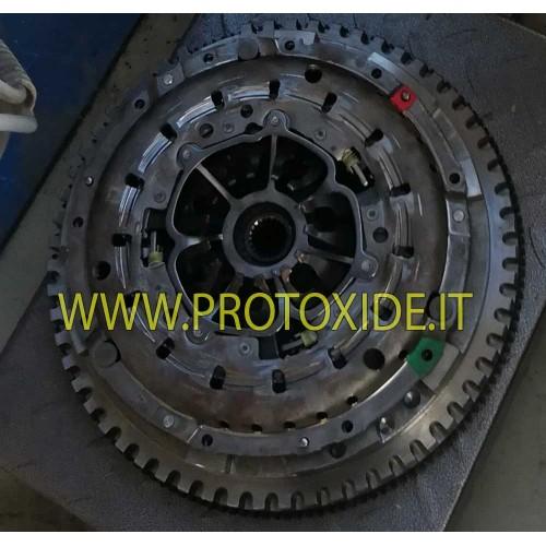 Kit volano acciaio monomassa con frizione rinforzata Renault Clio V6 phase 1 phase 2 Volani motore in acciaio ed alluminio al...