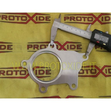 copy of downpipe seal for turbochargers Mitsubishi Evo 9 side muffler Reinforced Turbo, Downpipe and Wastegate gaskets