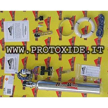 """Kit nitreux scooter d'oxyde ou minimoto INJECTION. """"Double"""" Catégories de produit"""