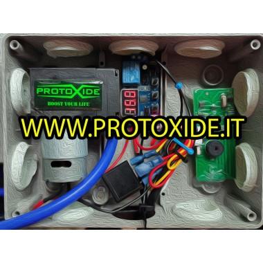 Kit pompa elettrica depressione con centralina separata e telecomando per valvole marmitta pneumatiche Pompe per vuoto elettr...