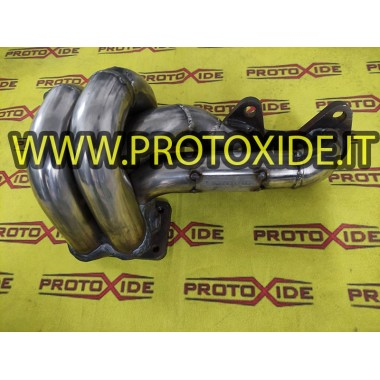 copy of Exhaust manifold Fiat Uno Turbo-Point-Fire engine - T2 ALL TIG Stainless steel manifolds for Turbo Gasoline engines